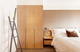 温馨宜家风主卧室衣柜设计
