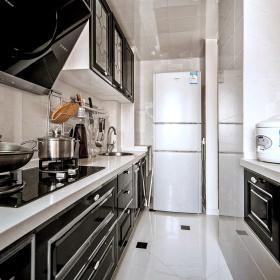 现代混搭风格设计厨房效果图