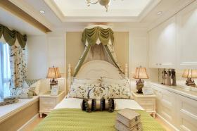 唯美浪漫美式卧室装修设计图
