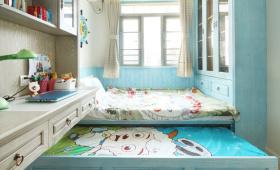 美式装修设计儿童房设计图