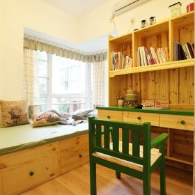 蓝色温馨混搭儿童房设计图