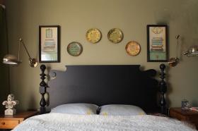 豪华现代美式卧室设计图