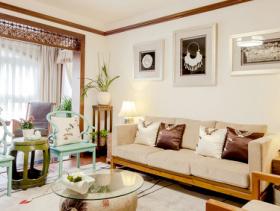 新中式三居设计案例