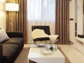 现代简约二居装潢效果图
