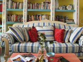 地中海家装三居室装修图片欣赏