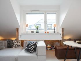 简约美式别墅客厅设计效果图