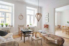 简约北欧微奢客厅装修设计