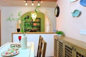 简约中式设计餐厅吧台设计