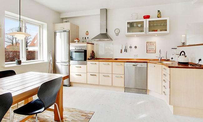 简欧别墅室内厨房设计效果图