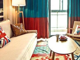 多元素潮流混搭二居装潢案例