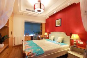 新古典设计卧室装饰效果图