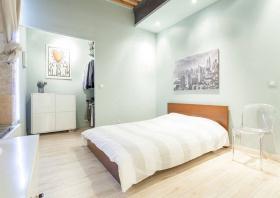 清新薄荷绿卧室设计