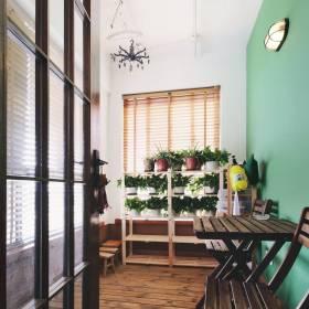 简约现代公寓家居阳台效果图片