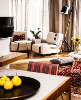 混搭客厅沙发局部设计