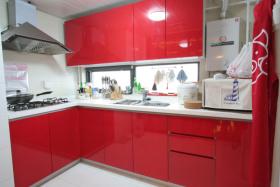 高端中式家庭厨房装修