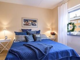 欧式简约别墅室内卧室效果图片欣赏