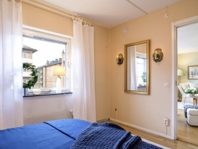 欧式简约别墅室内卧室图片