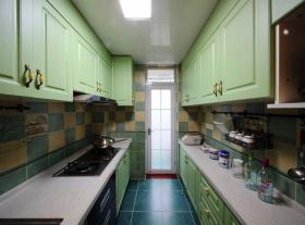 地中海装修设计厨房橱柜大全