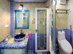 地中海风格卫生间室内装修设计