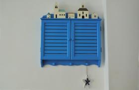 蓝色梦幻地中海时尚精致配电箱装修设计案例