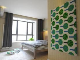 时尚简约小户型室内卧室设计效果图
