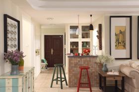时尚美式厨房室内设计效果图