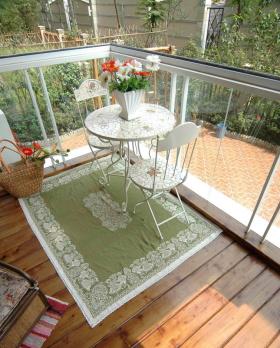 欧式家居花园阳台设计图