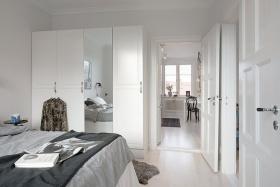 优雅简欧风格卧室布置效果图