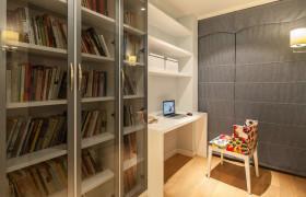 宜家风格书房室内效果图