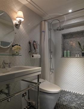 法式新古典卫生间设计图