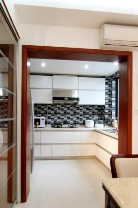 中式装修厨房设计图