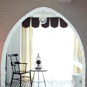 时尚浪漫欧式阳台设计整体效果图
