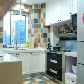 美式风格厨房装饰设计效果图