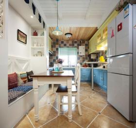 现代地中海风格厨房餐厅设计
