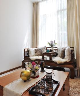中式现代装修设计飘窗