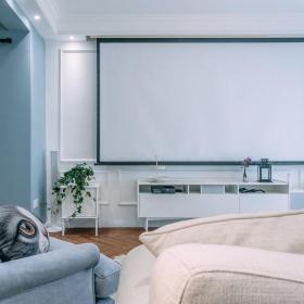 温馨清爽宜家风格电视背景墙装饰