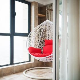 清爽亮丽现代风格阳台装饰布置图片