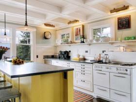 现代风格别墅简约设计厨房
