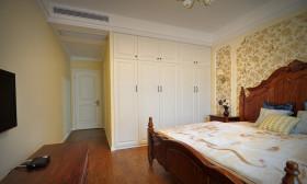 乡村田园风格卧室衣柜设计