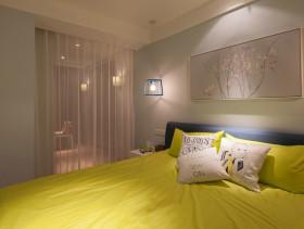 时尚小户型创意简约卧室效果图