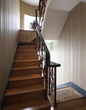 新古典风格原木色楼梯装修大全