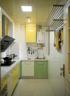时尚简约北欧厨房设计