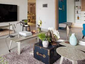 素雅简约风格一居室设计效果图