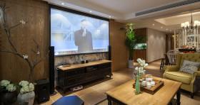 现代客厅电视背景墙家居设计
