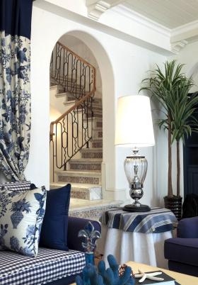 地中海风情楼梯设计
