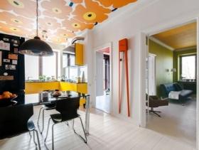 美式装修设计餐厅吊灯图