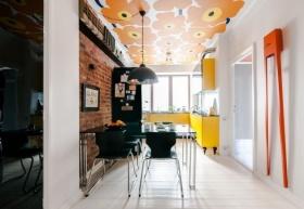 美式设计餐厅欣赏图