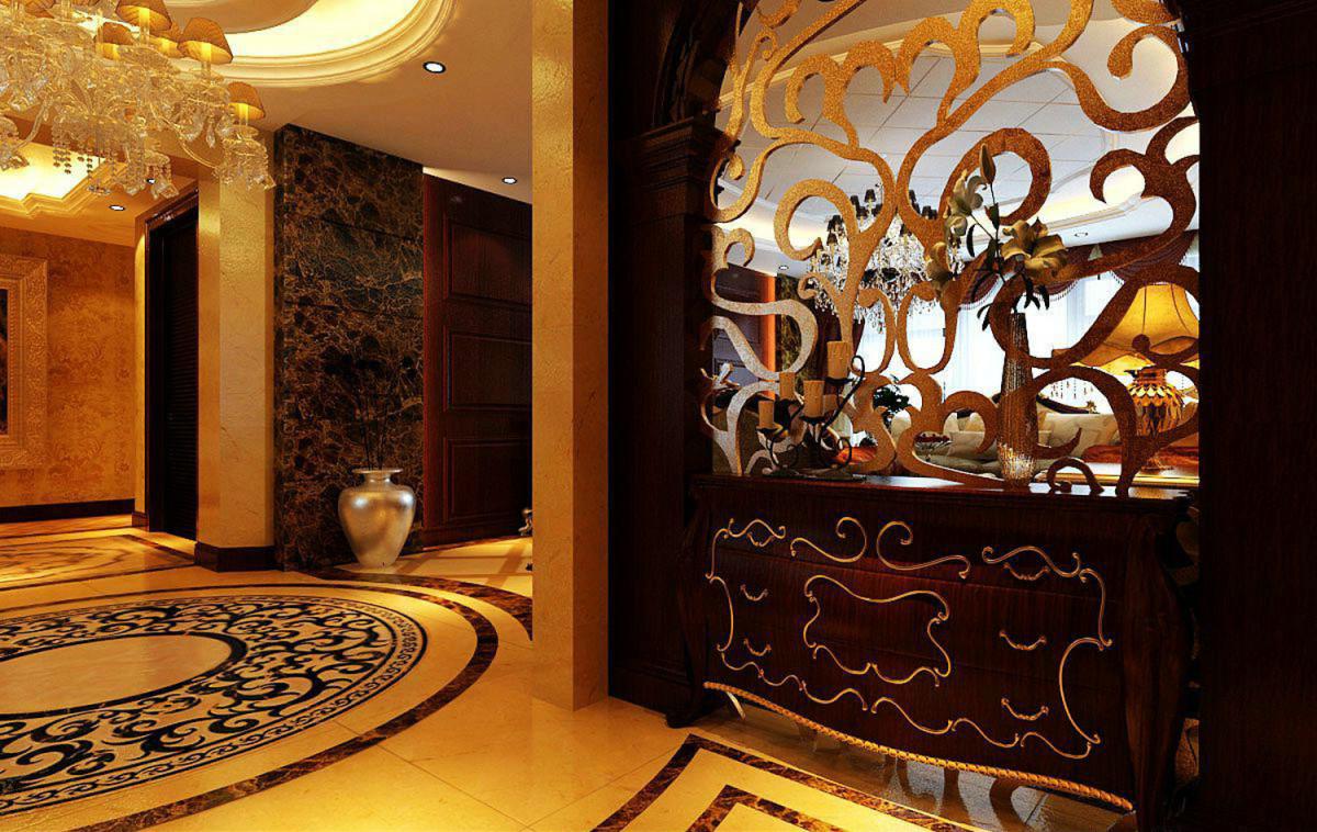 精致奢华欧式客厅隔断设计大全