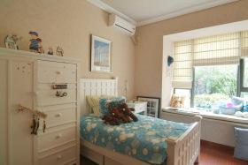 蓝色夏日地中海儿童房设计