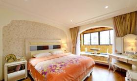 美式现代卧室室内家居设计效果图